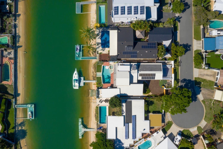 Gold Coast suburban housing